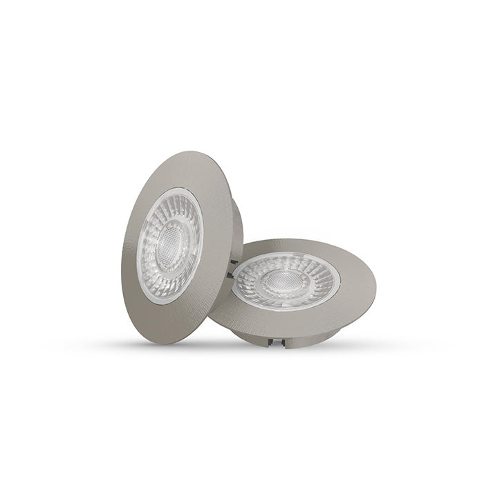 LED Cabiled Downlight Set Dimmable 2 x 4W 2700K