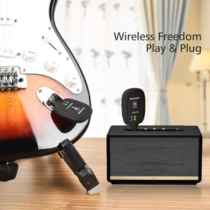 Guitar Wireless System-Quality Delux
