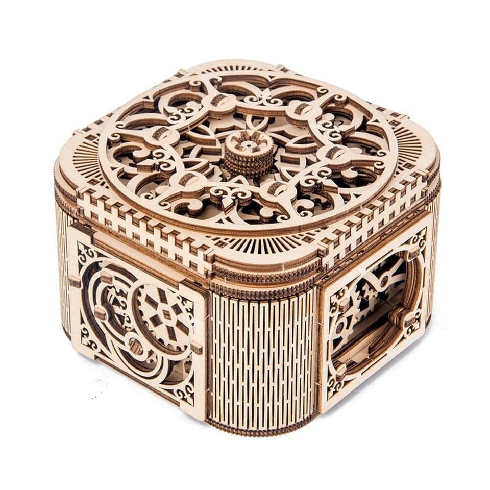 DIY Wooden Mechanical Jewelry Box-Quality Delux