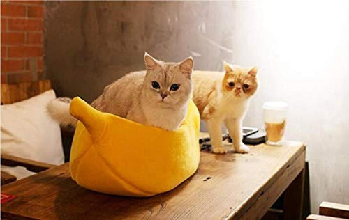 Kitty Peel - Pet Banana Hideaway-Quality Delux