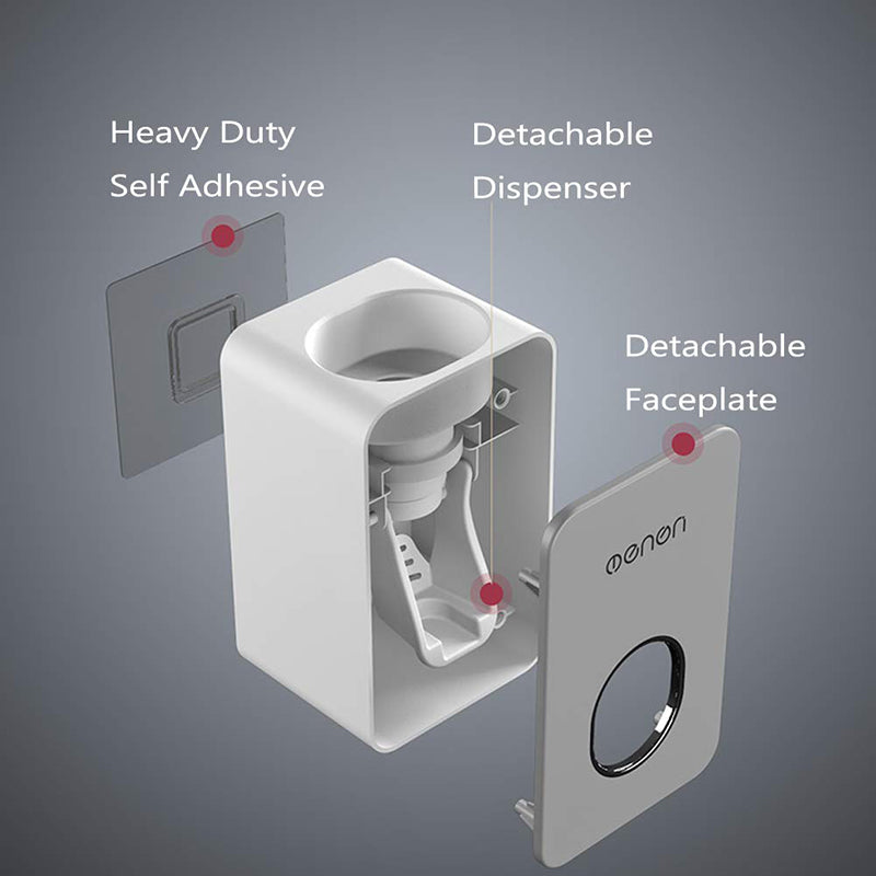 Hands-free Automatic Toothpaste Dispenser