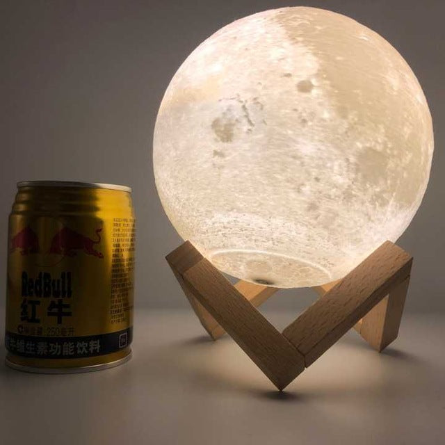 3D Printing Colorful Moon Lamp