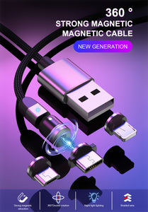 360° Magnetic USB Cable