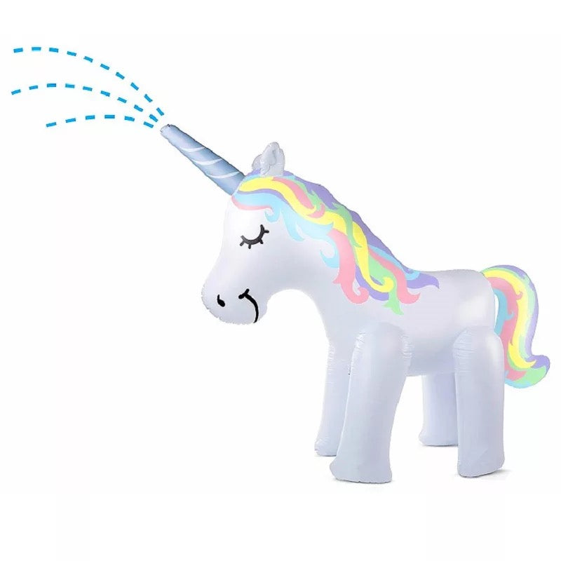 Water Spray Unicorn Sprinkler
