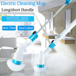 Turbo Electric Cleaning Scrubber