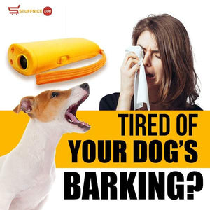 Bark Training Device