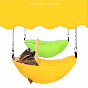 Banana Design Hanging Hammock for Small Pets