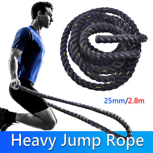 Jump Rope - Thick Heavy Jump Rope For Body Workout