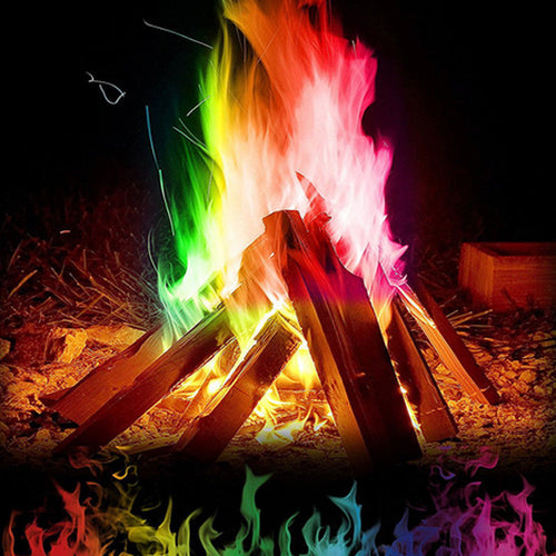 Colorful Magic Fire Flames Powder