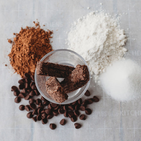 Double chocolate biscotti ingredients