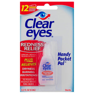 Eye Drops  - Clear Eyes Hand Pocket Pal  (.2 oz)