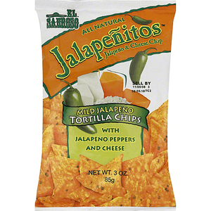 Tortilla Chips - El Sabroso Jalapenitos (3 oz )