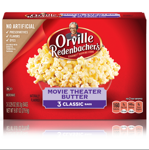 Popcorn - Orville Redenbacher's Movie Theater Butter (3 ct)