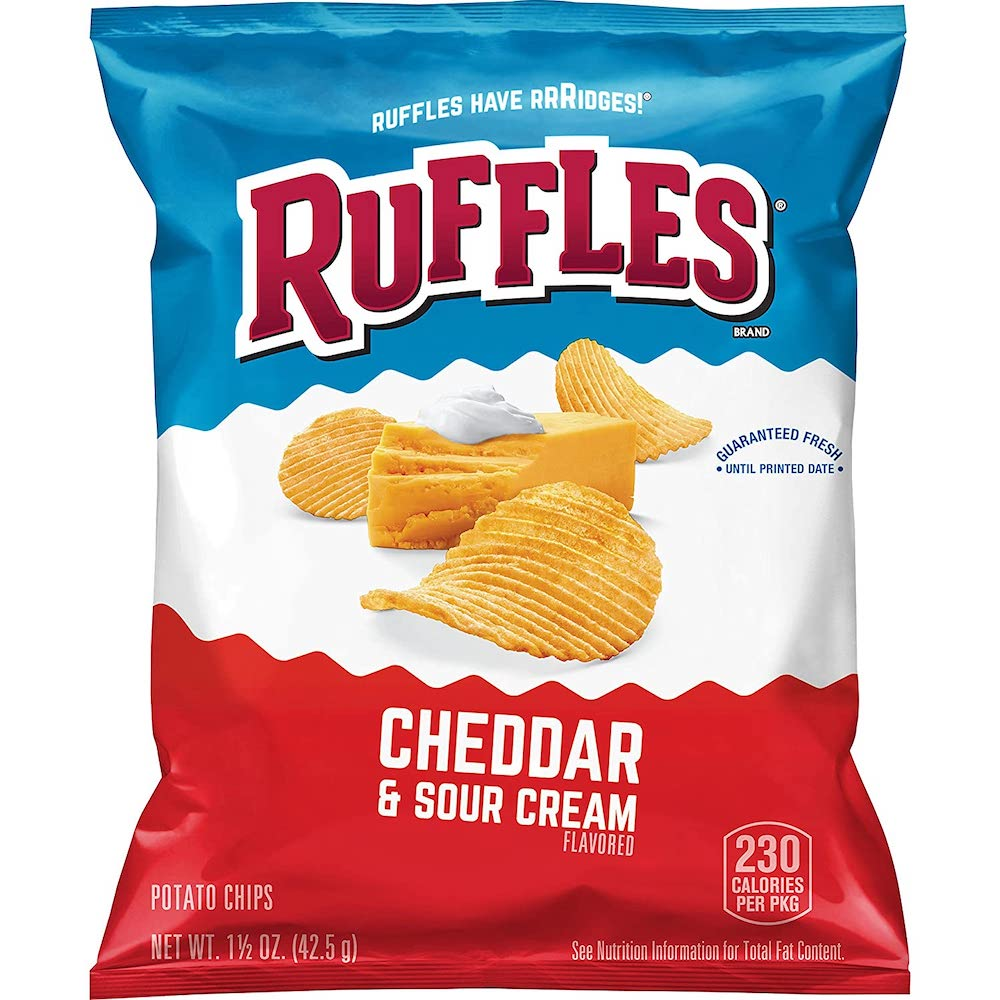 Ruffles - Ruffles Cheddar and Sour Cream (1.5 oz)