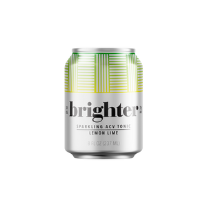 Sparkling Water - Brighter Lemon Lime ACV Tonic (8 oz )