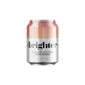 Sparkling Water - Brighter Blood Orange  ACV Tonic (8 oz )