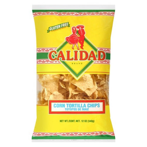 Calidad - Yellow Corn Tortilla Chips (12 oz)