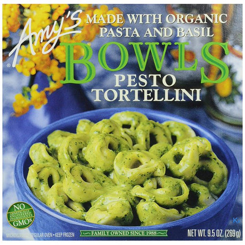Amy's Frozen Pesto Tortellini Bowl (9.5 oz)