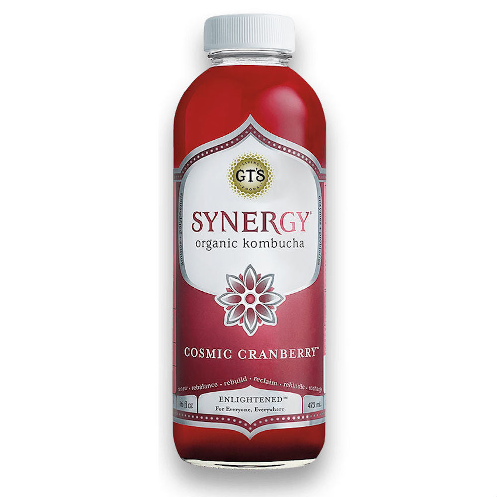 GT's Living Foods - Kombucha - Cosmic Cranberry (16 fl oz)
