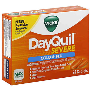 Vick's DayQuil - Severe+ (24 ct)
