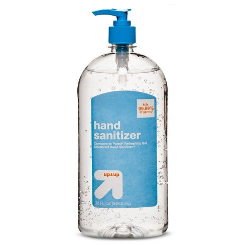 Antibacterial Hand Sanitizer - Lemon Fresh (12 oz)