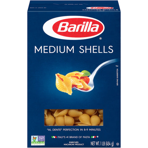 Barilla Pasta - Medium Shells (16 oz)