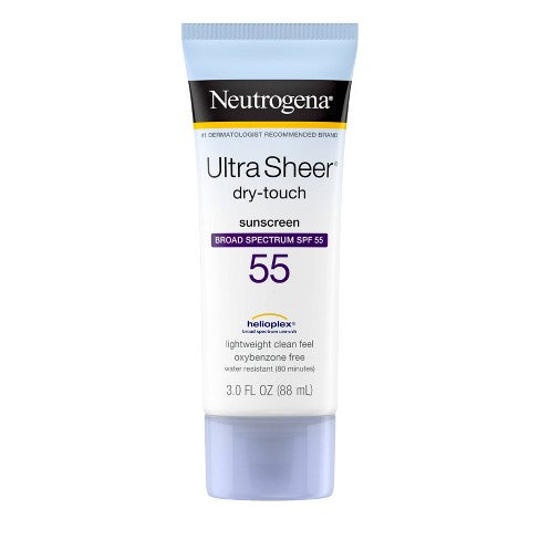 Neutrogena Sunscreen - Ultra Sheer SPF 55