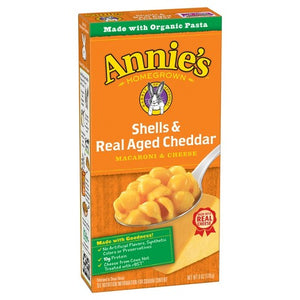 Annie's Macaroni & Cheese - Shells & Real Aged Cheddar (6 oz)