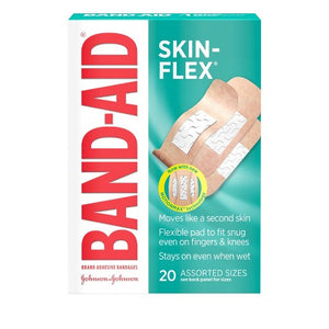 Band Aids - Skin Flex, Assorted Sizes (60 ct)