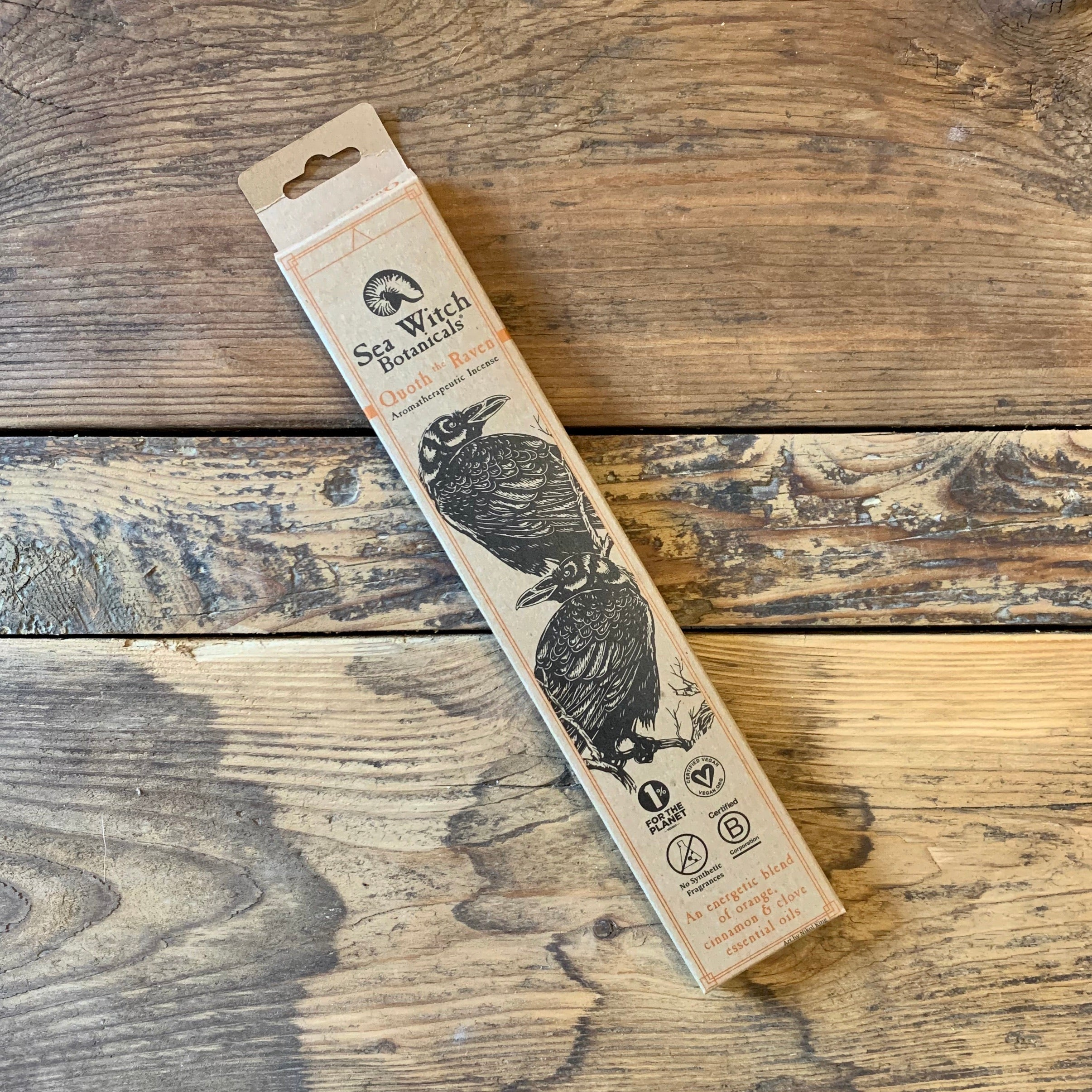 Incense Sticks by Sea Witch Botanicals