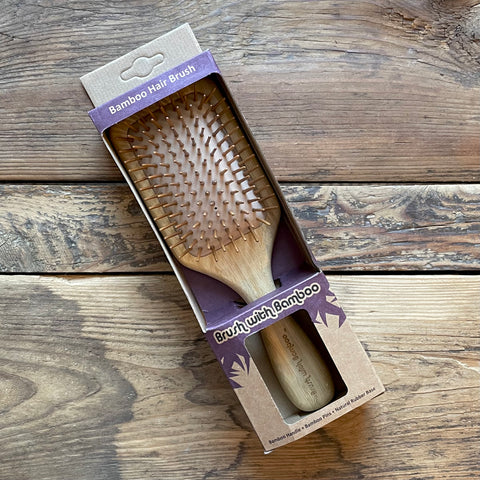 Bamboo Hairbrush - 100% Plant Based