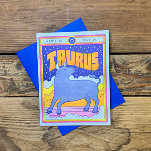 Zodiac Greeting Cards by Lucky Horse Press