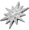 Large Cubic Zirconia Star Pendant with Chain