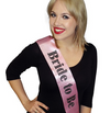 Pink Diamante Bride To Be Hen Party Sash