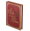 Red Fairytale Ring Box Book