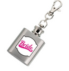 Bride Mini Hip Flask Keyring