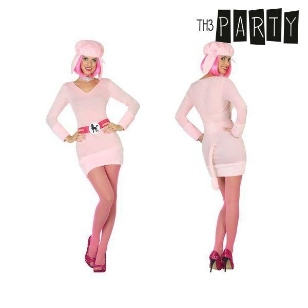 Costume for Adults Dog Pink - SuitFancy