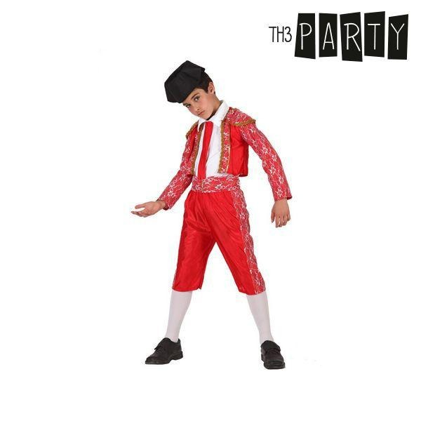 Costume for Children Male bullfighter Red - SuitFancy