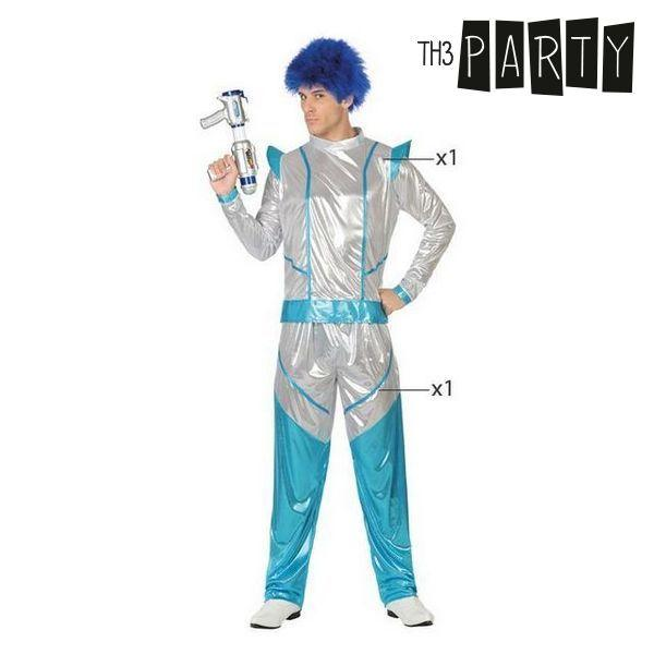 Costume for Adults Space soldier Blue - SuitFancy