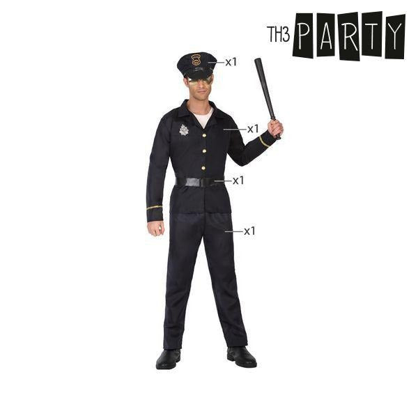 Costume for Adults Policeman - SuitFancy