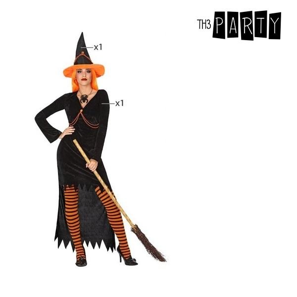 Costume for Adults Witch Orange (2 Pcs) - SuitFancy