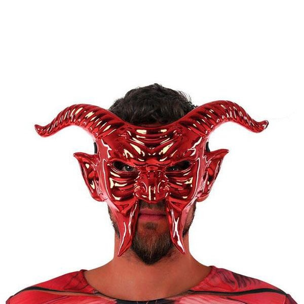 Mask 117746 Male demon Red - SuitFancy