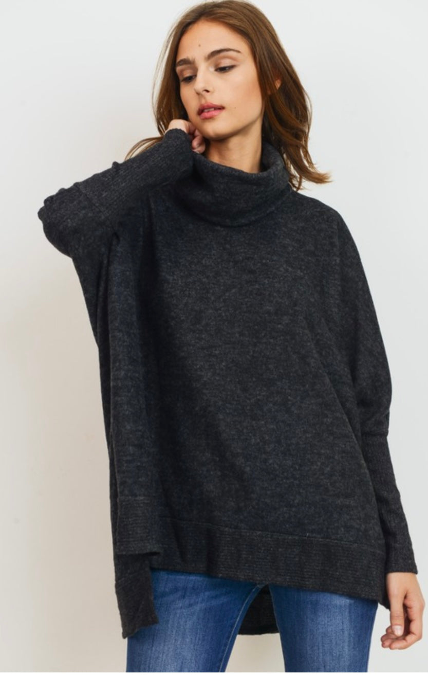 Cowl Neck Top in 2 colors