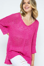 Load image into Gallery viewer, Best Selling Hi Low Sweater in 4 colors