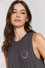 Load image into Gallery viewer, Spiritual Gangster Positive Vibes Crop Tank