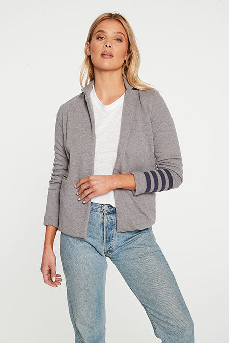 Chaser Blazer with Stripes