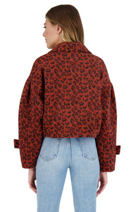 Wow Moment Leopard Jacket