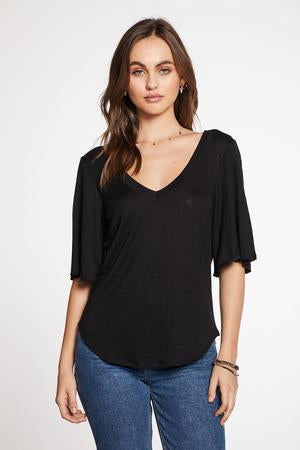 Chaser Double V Angel Sleeve Tee