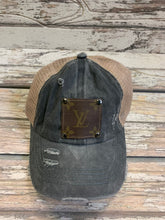 Load image into Gallery viewer, Preorder today!  One of a Kind LV  Baseball pony tail Hat