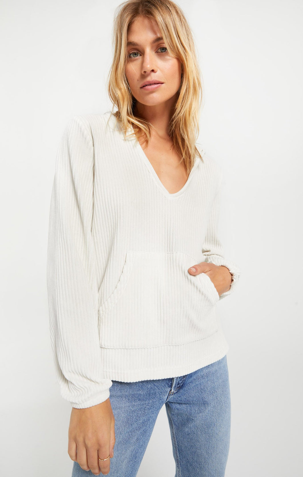 The Wide Wale Corduroy Pullover